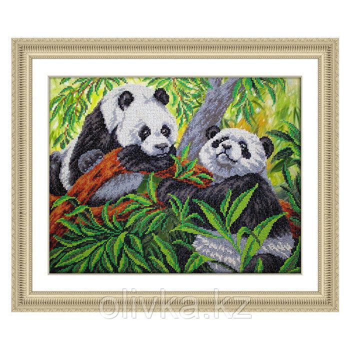 Набор для вышивки бисером «Панды»