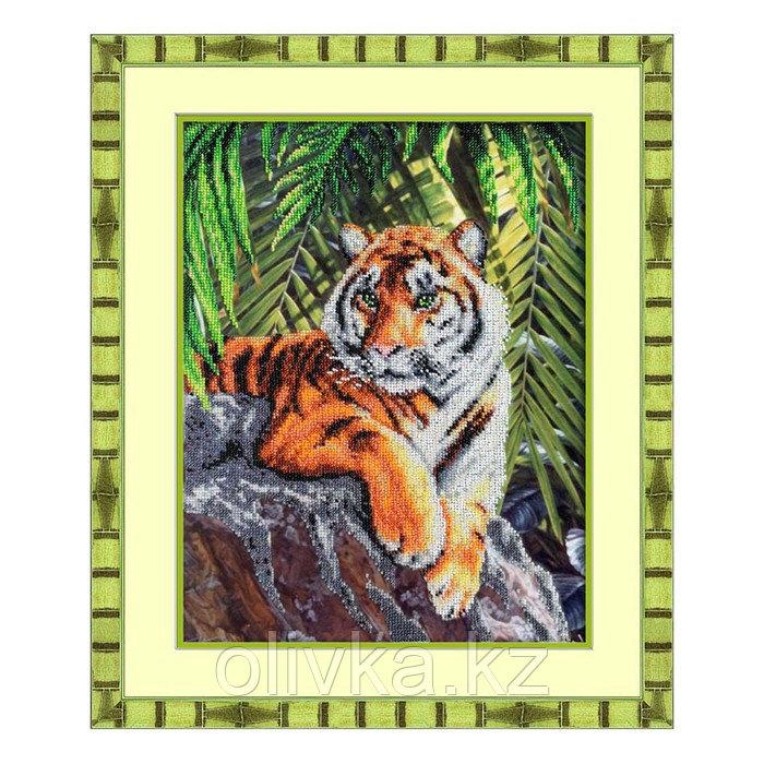 Набор для вышивки бисером «Тигр»