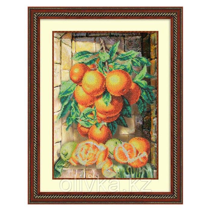 Набор для вышивки бисером «Апельсины»