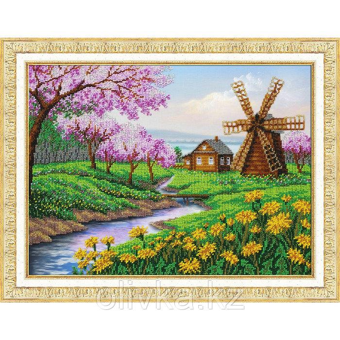 Набор для вышивки бисером «В краю весны»