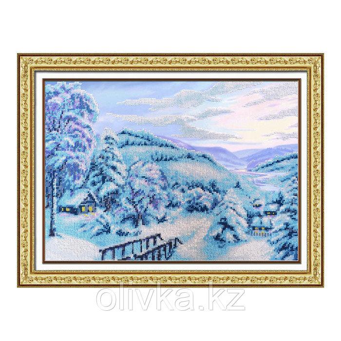 Набор для вышивки бисером «Зимняя сказка»