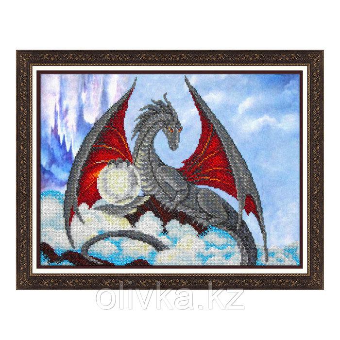 Набор для вышивки бисером «Дракон»