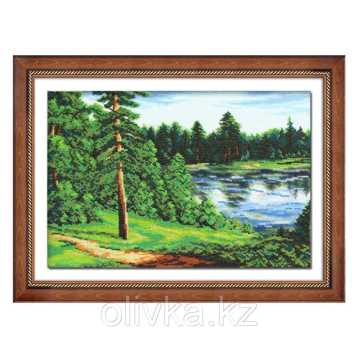 Набор для вышивки бисером «Тихая река»