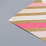 Кардсток с голографическим фольгированием Crate Paper - All Heart - Element, фото 2