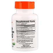 Doctor's Best, Легкоусвояемый CoQ10 с BioPerine, 100 мг, 60 растительных капсул, фото 2