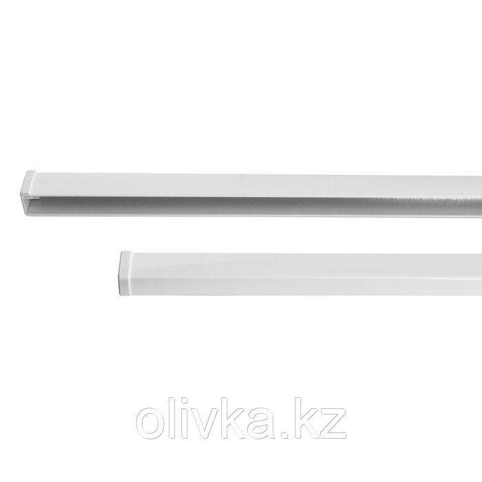 Направляющие кассеты для рулонной шторы «МИНИ», 160 см, 2 шт, цвет белый