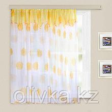 Кухонная штора «Юна», 285х160 см +/- 5 см