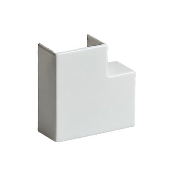 Поворот на 90 градусов РУВИНИЛ ПВР-25х16 для РКК-25х16 Белый (20 штук в пакете)
