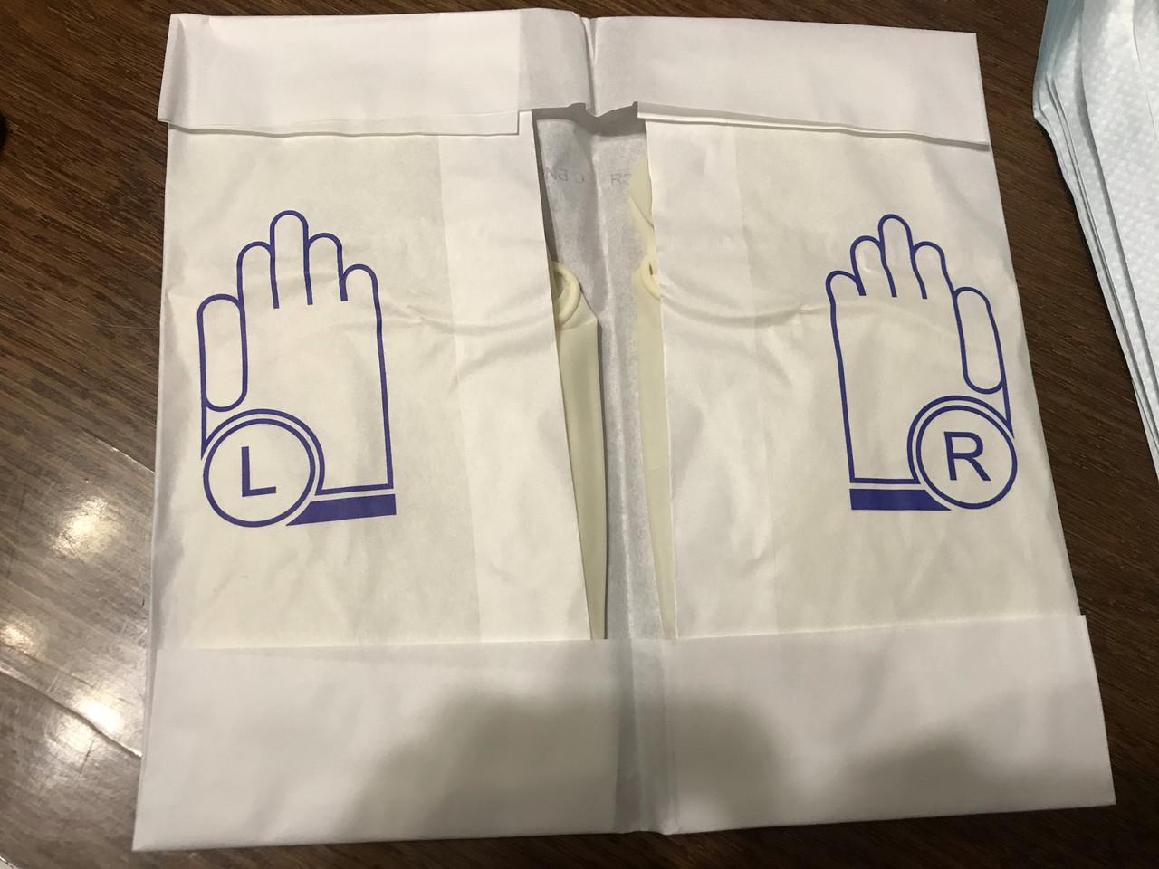 Перчатки стерильные хирургические с длинной манжетой - фото 3