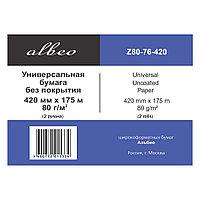 Бумага Albeo  (Z80-420/175/4)
