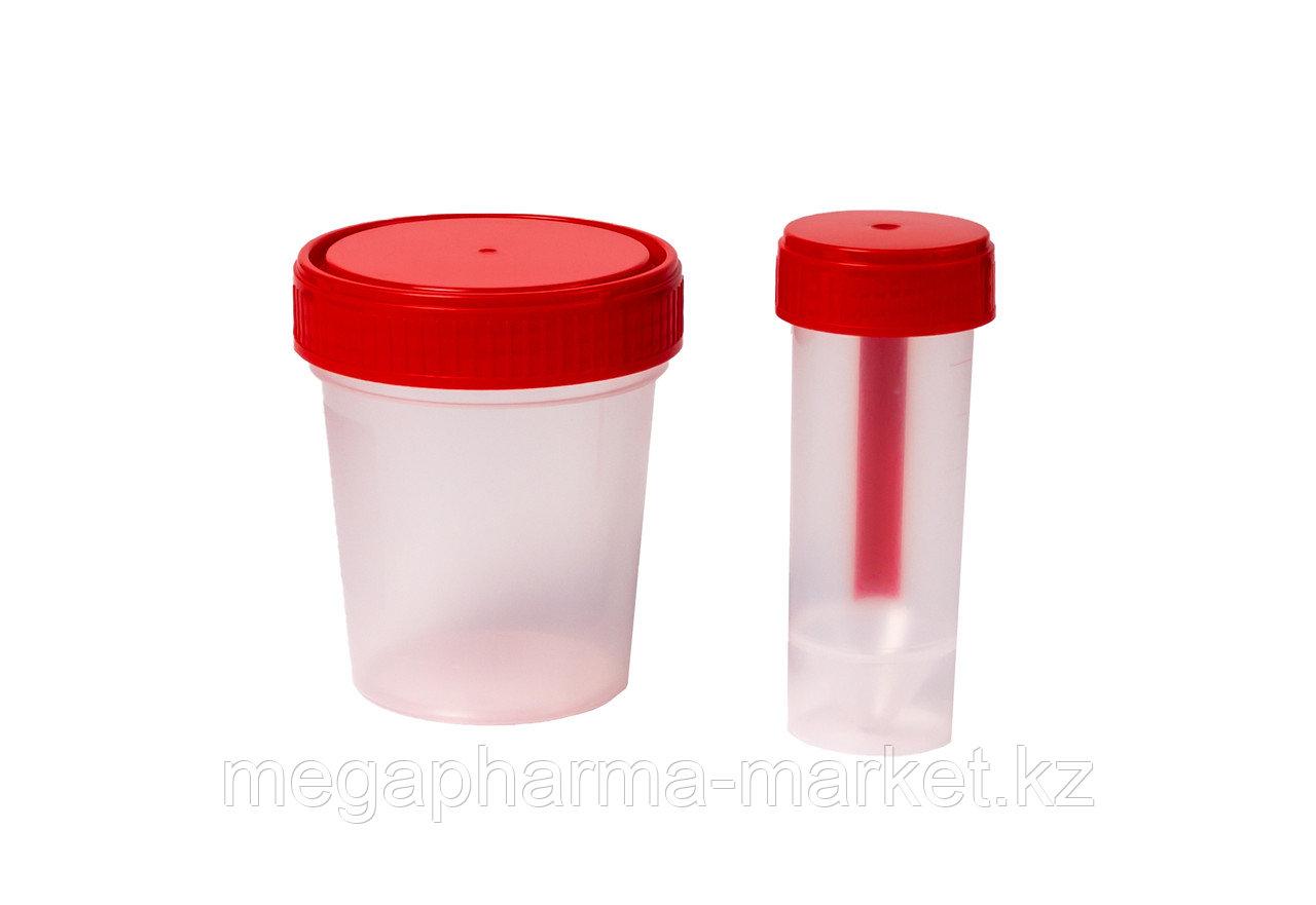 Контейнер для биологических материалов 100мл стерильный - фото 1