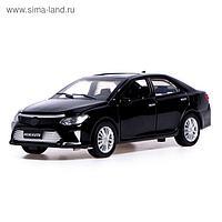 Машина металлическая «Седан», открываются двери, капот, багажник, световые и звуковые эффекты, инерция, цвет