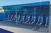 Запасные скамейки / укрытия для команд