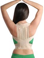 Корректор осанки эластичный с ребрами жесткости арт.2011 размер ХL