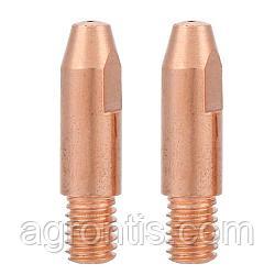 Контактный наконечник для MIG сварки Contact Tip E-Cu M6*25*0,6 mm