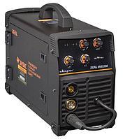 Полуавтомат инверторный MIG 200 N24002N REAL Black (маска, краги)
