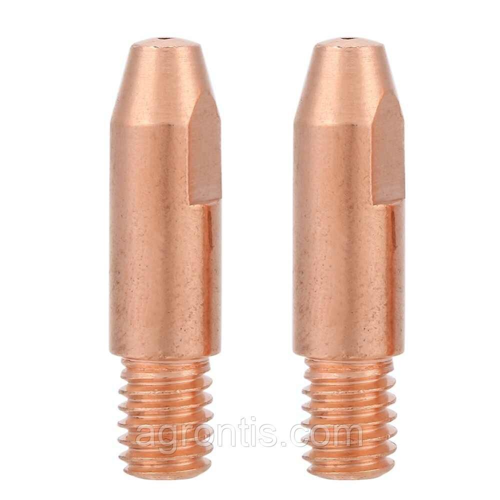 Контактный наконечник для MIG сварки Contact Tip CuCrZr  M10*35*2,0   mm  ( HR 61GD)