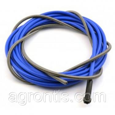 Направляющая спираль (лайнер) 4,0 \ 1,6 -3,0 m  Синяя  0,6 - 0,8 mm