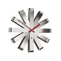 Часы настенные Ribbon, стальные, фото 1