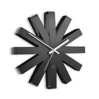 Часы настенные Ribbon, черныe, фото 1