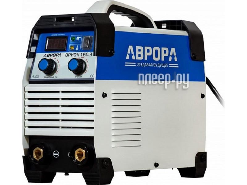 Инверторный сварочный полуавтомат Аврора OVERMAN160,(MIG-MAG на 220В,Профи)