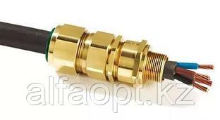 Ввод для бронированного кабеля, латунь М25 20 E1FX