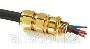 Ввод для бронированного кабеля, латунь М32 32 SS2K PB