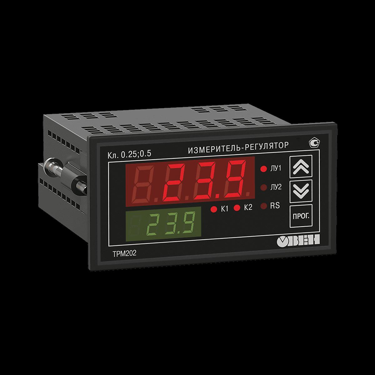 Измеритель-регулятор двухканальный ТРМ202-Щ2.РР