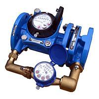 Комбинированный счетчик холодной воды Тепловодомер DN 50 (ВСХНК-50/20)