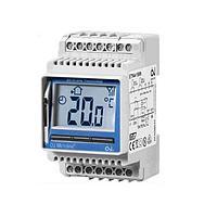Цифровой терморегулятор для монтажа на DIN-рейку ETN4-1999 с датчиком температуры пола