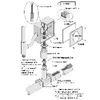 Комплект соединения силовой Z1-PLT-BY