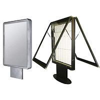 Отдельно стоящая световая формованная информационная табличка (1150 x 500)