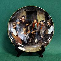 Коллекция декоративных тарелок знаменитой мануфактуры Lilien Porcelain (Австрия).