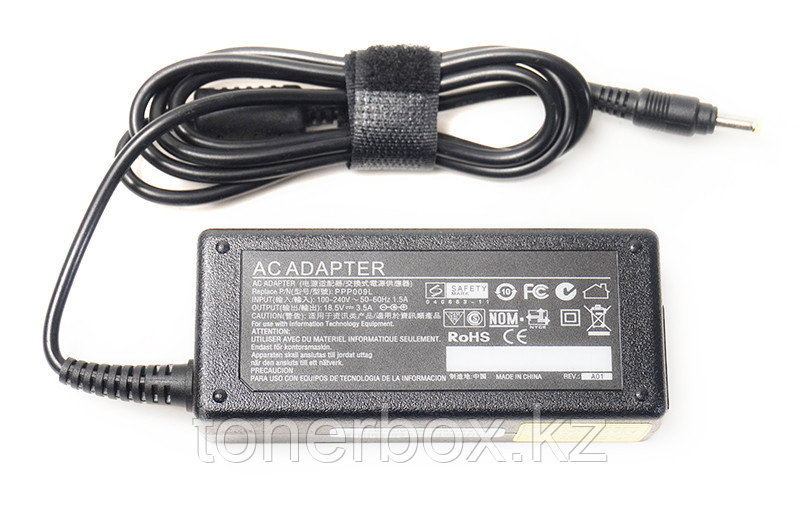 Блок питания для ноутбуков PowerPlant HP 220V, 18.5V 65W 3.5A (4.8*1.7)