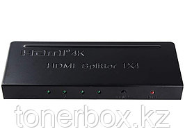 Сплиттер PowerPlant HDMI 1x4 V1.4, 4K (HDSP4-M)