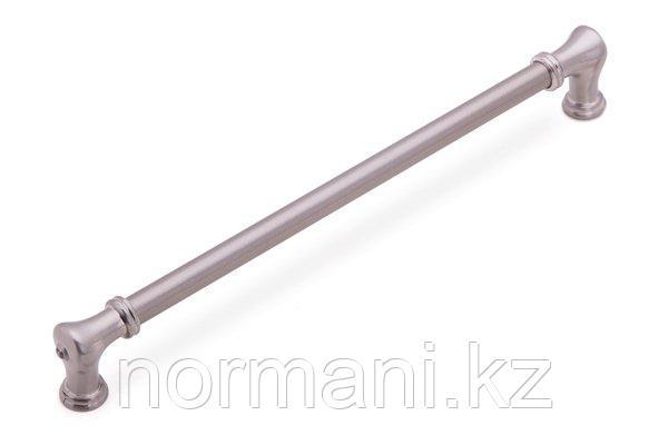 Мебельная ручка скоба 256мм, отделка сатин