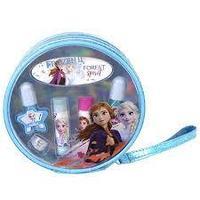 Markwins Frozen Игровой набор детской декоративной косметики для губ и ногтей в косметичке