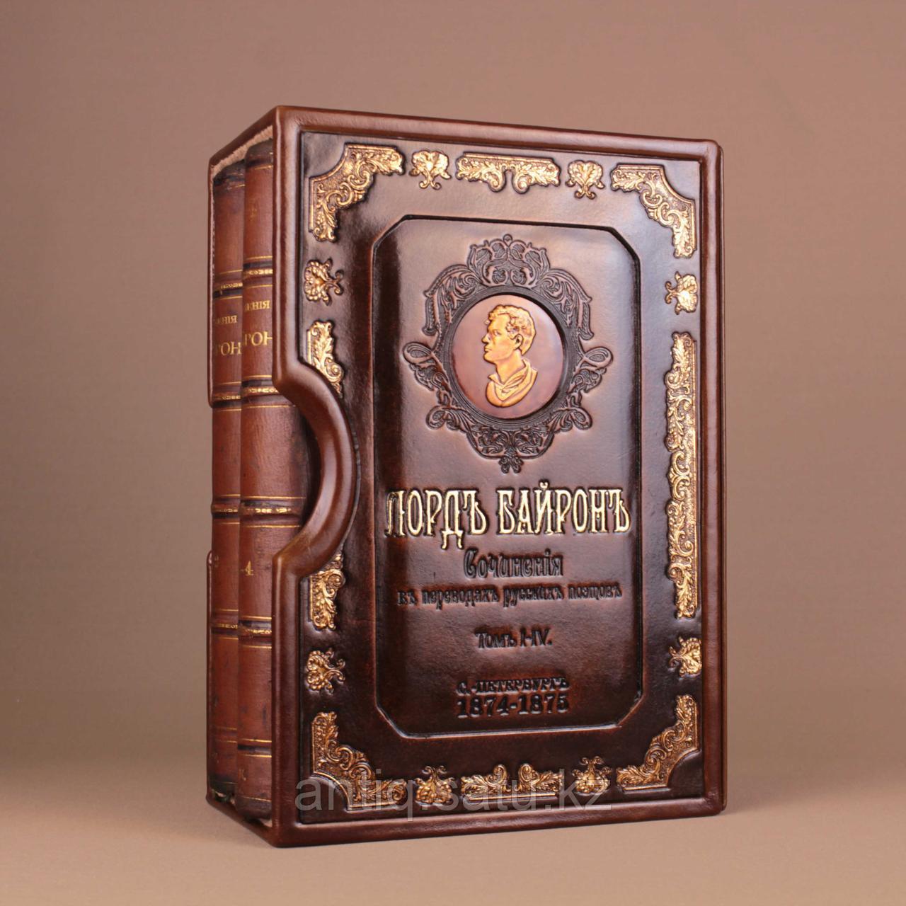 Сочинения Лорда Байрона. 4 тома. В подарочном кейсе - фото 2
