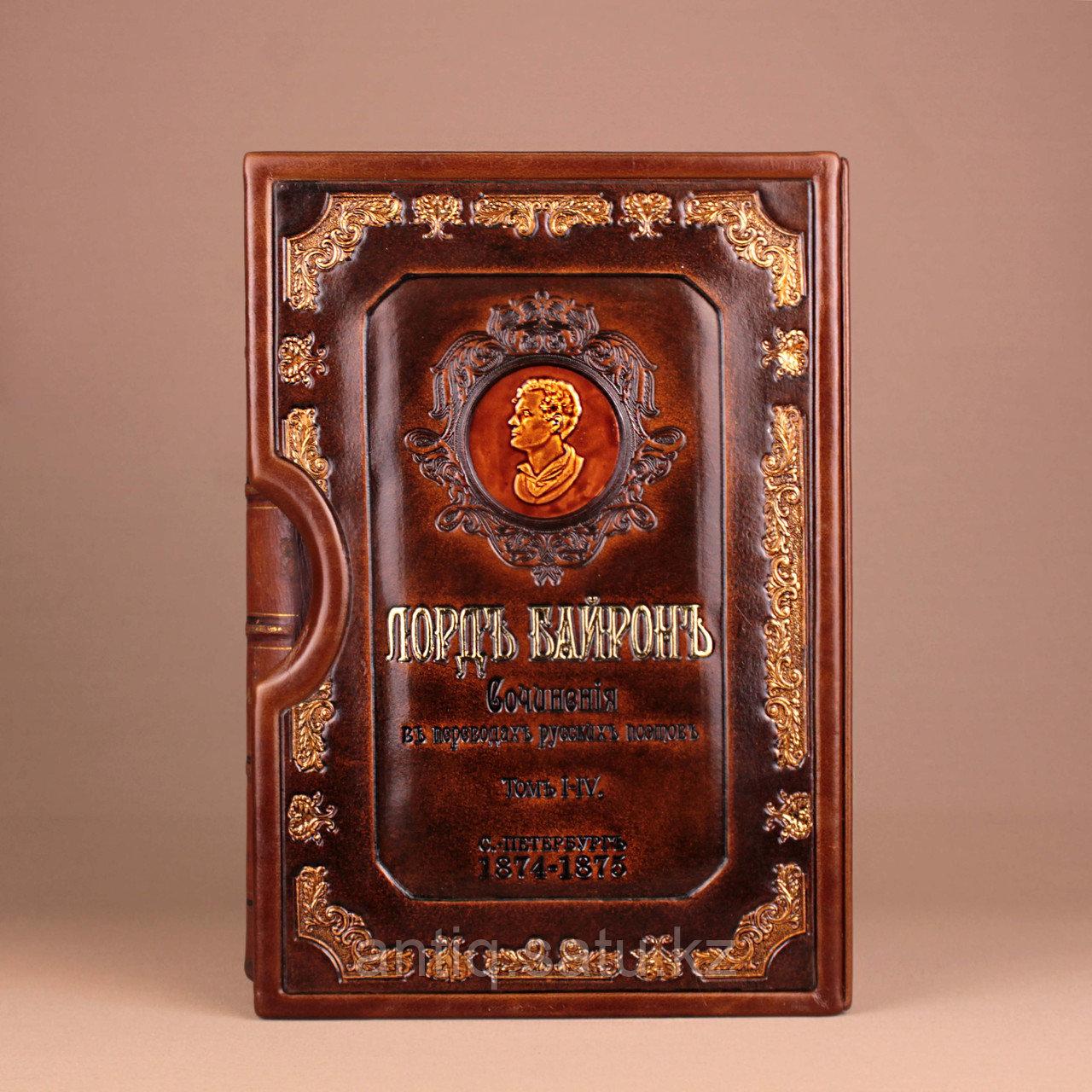 Сочинения Лорда Байрона. 4 тома. В подарочном кейсе - фото 1
