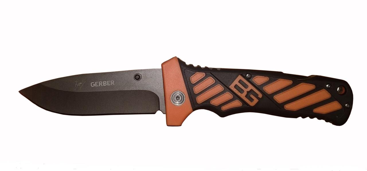 Нож туристический складной Gerber Bear Grylls (без серрейтера) в чехле.