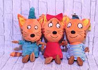 Игрушки мягкие brand 51794 Три Кота мягкая игрушка (Коржик)