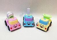 Игрушки прочие brand 52659 Машинка детская строительная (Розовая)