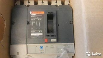 Автоматические выключатели Merlin Gerin 1-630A