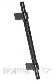 Ручка-скоба 128мм, отделка черный матовый