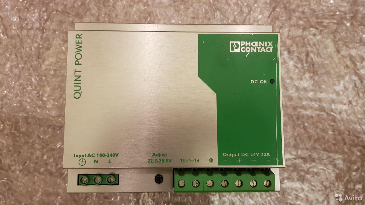 Блоки Питания Phoenix Contact 0,5-40А Новые