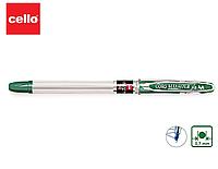 Ручка шариковая CELLO Maxriter зеленый ОРИГИНАЛ