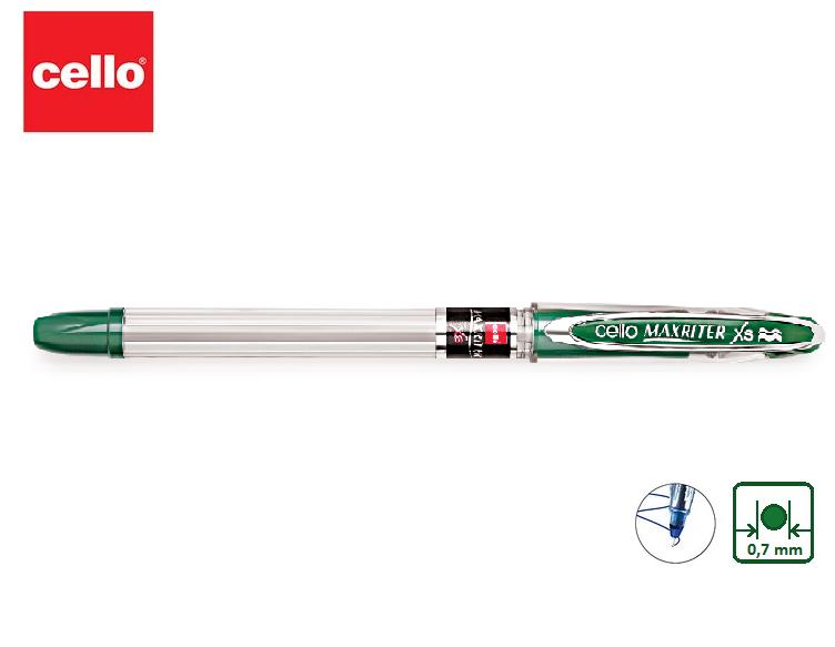 Ручка шариковая CELLO Maxriter зеленый ОРИГИНАЛ - фото 1