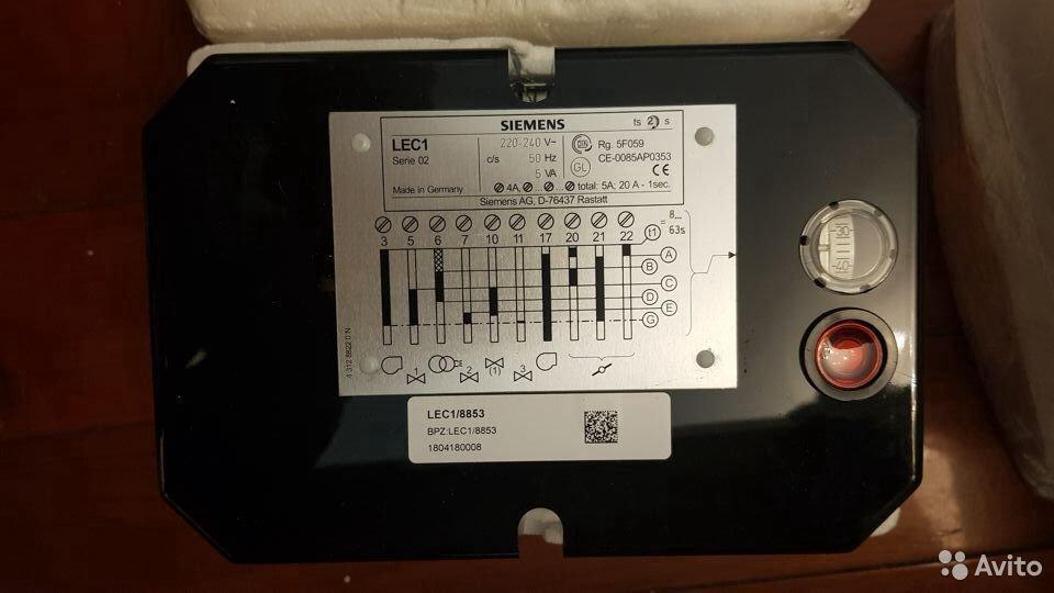 Автоматы горения Приводы заслонок Siemens