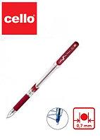 Ручка шариковая CELLO Pinpoint, красный ОРИГИНАЛ