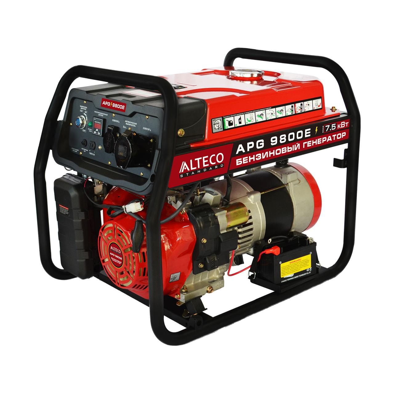 Бензиновый генератор APG 9800E (N) ALTECO Standard